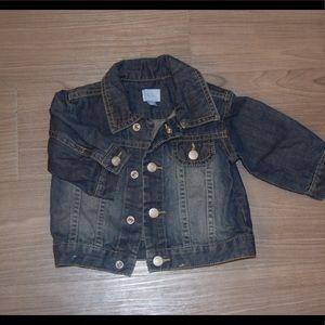 Baby denim jacket, 3-6 months